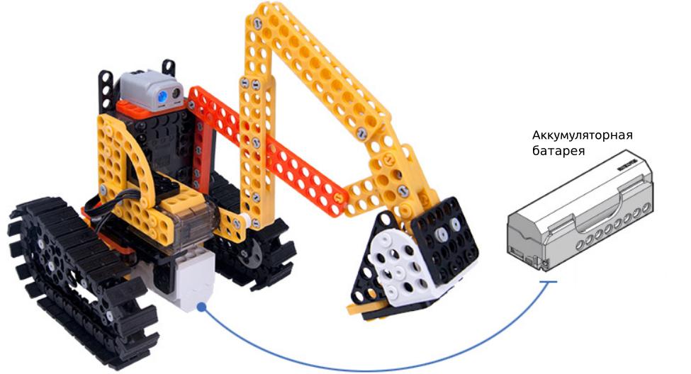 Робот-экскаватор