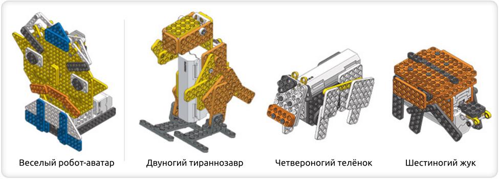 Роботы животные